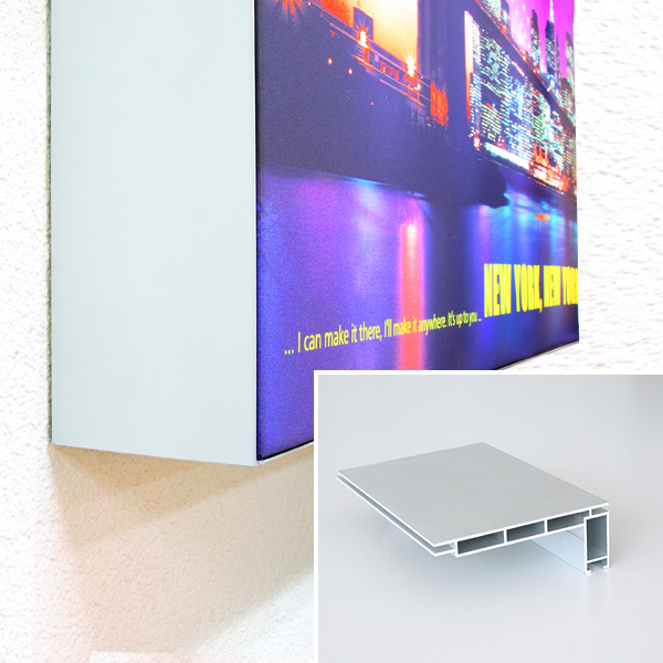 Q Frame 174 Light Box Let Your Message Shine Sachsen Fahnen